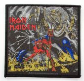 Iron Maiden - 'Number of the Beast' Woven Patch